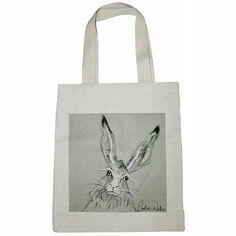 Caroline Walker 'Billy' Hare Canvas Bag
