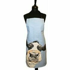 Caroline Walker 'Molly' Blue Cow Apron