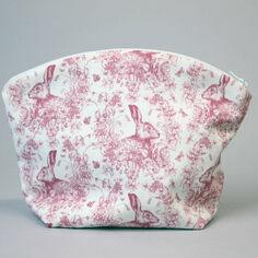 Soft Pink Hare Wash Bag
