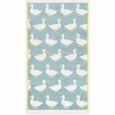 Anorak Waddling Ducks Hand Towel