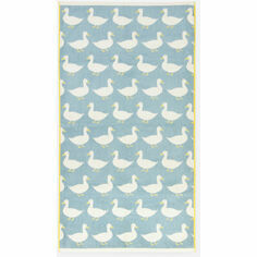 Anorak Waddling Ducks Bath Towel