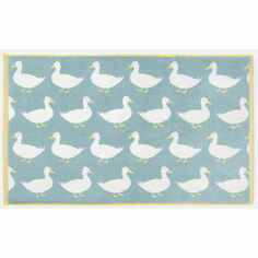 Anorak Waddling Ducks Bath Mat