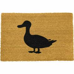 Coir Duck Silhouette Doormat