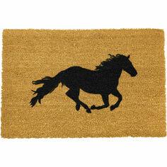 Artsy Coir Horse Doormat