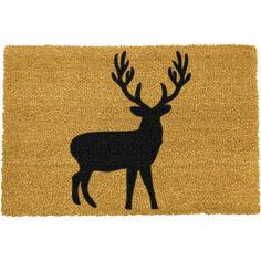 Coir Stag Silhouette Doormat