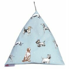The Wheat Bag Company Ipad, Tablet & Book Dog Print Cushion Stand - Best In Show