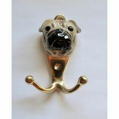 Porcelain Pug Hook