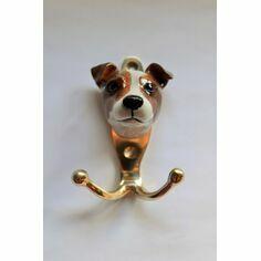 Porcelain Jack Russell Hook