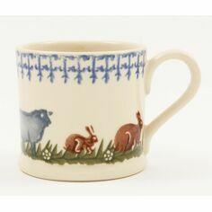 Brixton Pottery Farm Animals Mug