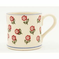 ECP Design Brixton Pottery Scattered Rose Mug