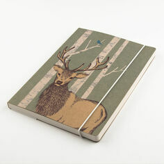 Woodland Trust Stag A5 Notebook