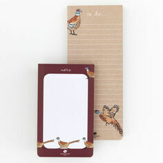 Go Stationery Woodland Trust Pheasant List Pads 2 Pack