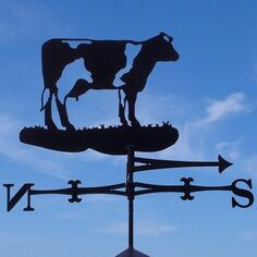 Buttercup Cow Weathervane
