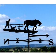 The Ploughman Weathervane