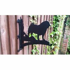 Pug Hanging Basket Bracket