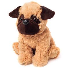 Warmies Pug Dog Microwavable Snuggle Toy