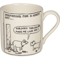 Victoria Armstrong 'Bob does this Collar' Mug