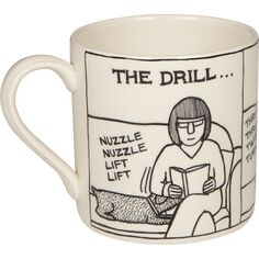 Victoria Armstrong 'The Drill' Mug
