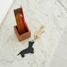The Labrador Company Dachshund Keyring