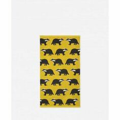 Anorak Kissing Badgers Hand Towel