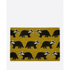 Anorak Kissing Badgers Doormat