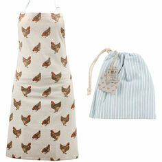 CGB Giftware Holly House Chicken Cotton Apron