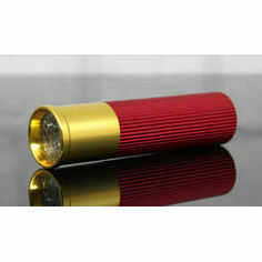 Shotgun Cartridge LED Torch - Red