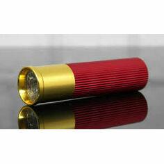 Dzine Shotgun Cartridge LED Torch - Red