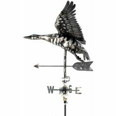 Primus 3D Flying Duck Weathervane with Garden Stake