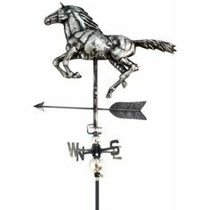 Primus 3D Horse Weathervane with Garden Stake