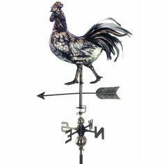 Primus 3D Cockerell Weathervane with Garden Stake