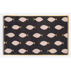 Anorak Fish Bath Mat