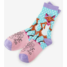 Hatley For Fox Sake Women's Crew Socks