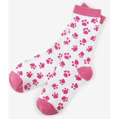 Hatley Paw Prints Women's Crew Socks