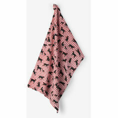 Hatley Gingham Labrador Tea Towel