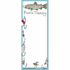 Fishful Thinking Magnetic List Noteboard