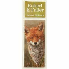 Robert Fuller Fox Magnetic Bookmark