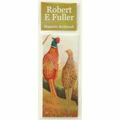Robert Fuller Pheasant Magnetic Bookmark