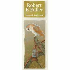 Robert Fuller Barn Owl Magnetic Bookmark