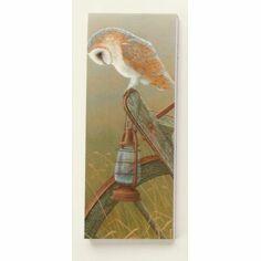 Robert Fuller Barn Owl Magnetic Shopper Pad
