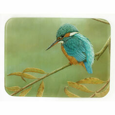 Kingfisher on Willow Work Top Saver