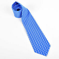 Fox and Chave Horse & Jockey Silk Tie