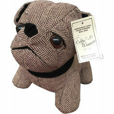 Samuel Lamont Herringbone Bulldog Tweed Door Stopper