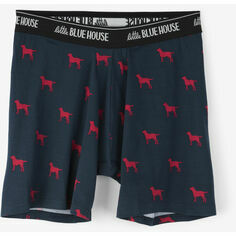 Labs On Navy Men's Boxers