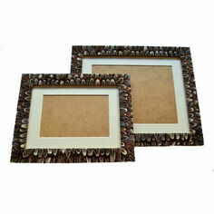 Pheasant Feather Mounted Photo Frame