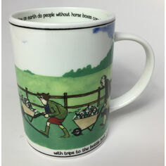 Samuel Lamont Bottle Bank Tottering China Mug