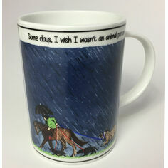 Tottering By Gently Some Days I Wish China Mug