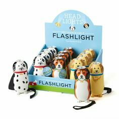 Rechargeable Dog Flashlight Torch