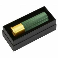 Green Shotgun Cartridge Torch in Presentation Box