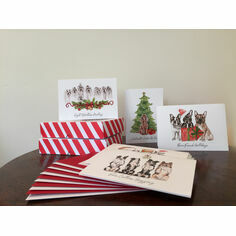 Claire Alice Designs The Twelve Dogs of Christmas Cards